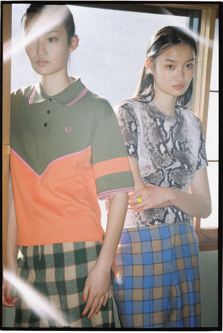 FRED PERRY X AKANE UTSUNOMIYA Two Worlds Collide autumn winter 2019 collection